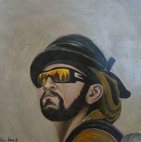 Wandbild, Malen, Wunschbild, Acrylmalerei