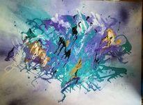 Malerei, Acrylmalerei, Modern art, Abstrakt