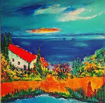 Inspiration, Landschaft, Malerei,