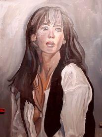 Malerei, Frau,