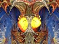 Farben, Universum, Abstrakt, Digitale kunst