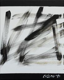 Abstrakt, Gemälde, Chinesische malerei, 1980