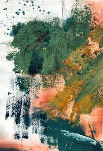 Acrylmalerei, Abstrakt, Farben, Modern art