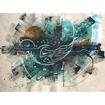 Farben, Abstrakt, Malerei