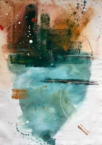 Farben, Abstrakt, Modern art, Malerei