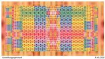 Pastellmalerei, Symmetrie, Konkrete kunst, Digitale kunst