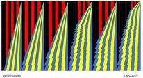 Dreiecke gleichen flächeninhalts, Geometrie, Proportion, Digitale kunst