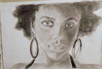 Skizze, Schönheit, Bleistiftzeichnung, Zeichnungen
