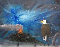 Energie, Adler, Vulkan, Universum