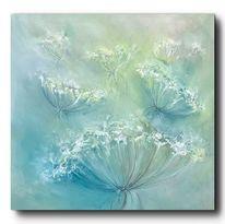 Wald, Landschaft malerei, Blumen, Pflanzen