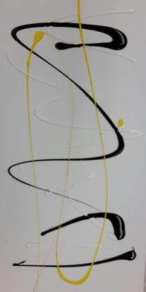 Linie, Abstrakt, Farben, Malerei