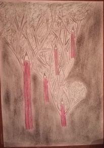 Rot, Zeichnungen, Welt
