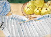 Martha krug, Leben, Aquarellmalerei, Stille