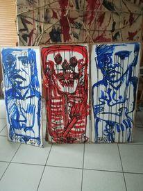 Acrylmalerei, Zeichnung, Mischtechnik