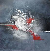 Abstrakte kunst, Abstrakte malerei, Acrylfarben, Acrylmalerei