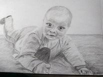 Baby, Portrait, Josiah, Zeichnungen