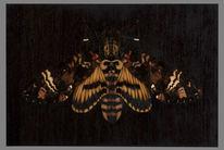 Kunsthandwerk, Holz, Marketerie, Intarsienbilder