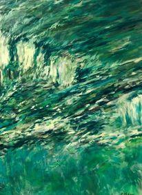 Tessin, Landschaft malerei, Maggiatal, Ausschnitt