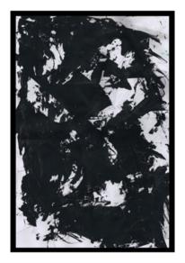 Abstrakt, Weiß, Malerei acrylmalerei, Malerei