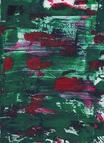 Farben, Modern, Mondrian, Rot