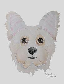 Hundeportrait, Tierportrait, Geschenkidee, Erinnerung