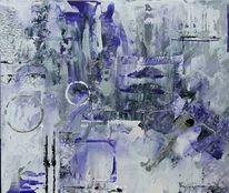 Lila, Abstrakt, Malerei