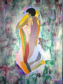 Abstrakte malerei, Menschen, Malerei,