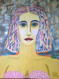 Abstrakte malerei, Menschen, Malerei, Pop