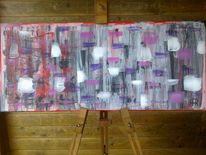Abstrakte malerei, Fantasie, Farben, Malerei