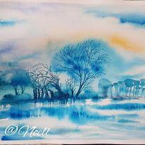 Blau, Natur, Weiß, Leben