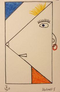 Abstrakt, Menschen, Zeichnung, Zeichnungen