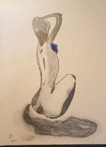 Akt, Frau, Abstrakt, Zeichnungen