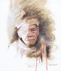 Portrait, Fotorealismus, Menschen, Ölmalerei
