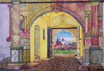 Ruine, Schmalkalden, Burg, Licht