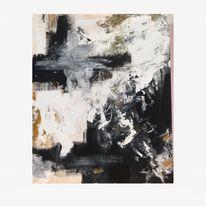 Ölmalerei, Abstrakt, Acrylmalerei, Mischtechnik