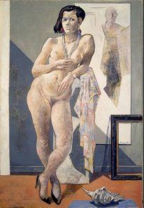 Ölmalerei, Menschen, Malerei, Koller