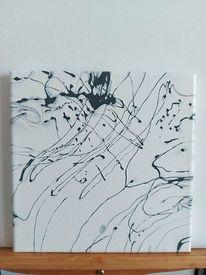Abstrakt, Modern, Flüssig, Malerei