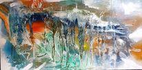 Anfang, Abstrakt, Schluss, Malerei
