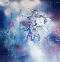Frieden, Blau, Malerei