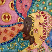 Farben, Fantasie, Folklore, Muster