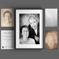 Portraitzeichnung, Sketchus, Zeichnen, Zeichnungen