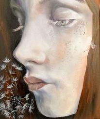 Portrait, Ölmalerei, Aphaca, Malerei