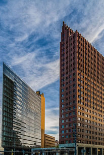 Potsdamer platz, Architektur, Metropole, High rise building
