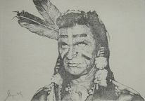 Comanche, Zeichnung, Western, Menschen