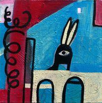 Figur, Abstrakt, Farben, Malerei