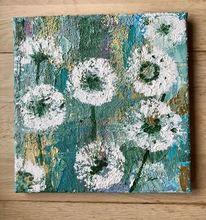 Modern, Modern art, Pflanzen, Acrylmalerei