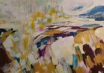 Atmosphäre, Meer, Bewegung, Malerei