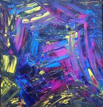 Leuchten, Abstrakt, Farben, Malerei
