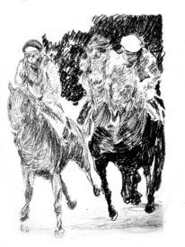 Pferderennen, Pferde, Galopp, Jockey