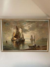 Boot, Meer, Nordsee, Künstler gesucht